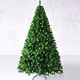 SHBV Espeso Artificial Hoja Mixta árbol De Navidad,Bisagras Fuerte Soporte Metálico Navidad Decoración,Automático Pino Reutilizable Montaje Sencillo Hogar Decoraciones