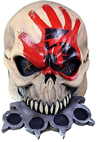 Five Finger Death Punch Knuckle Head Mask Costume Accessory