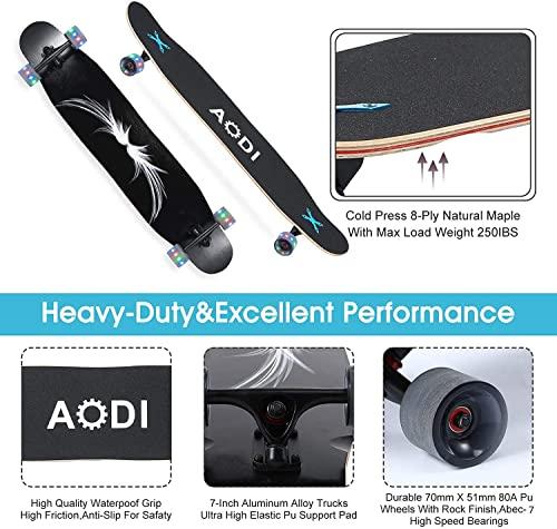 Wheelive GENMAI longboards -black