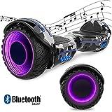 GeekMe Patinete 6,5 Pulgadas Scooter Eléctrico Certificado UL 2272 con Bluetooth y...