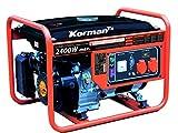 Korman - Grupo electrógeno Gasolina 2400W – 5,5CV