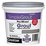Custom PMG165QT 1-Quart Simple Premium Grout,...