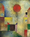 1art1 Paul Klee - Roter Ballon, 1922 Poster Kunstdruck 50 x