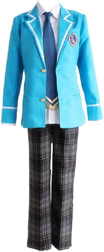IPLD Hidaka NEW Fashionable before selling Hokuto Costume Uniforms Blue Ensemble Stars Cosplay