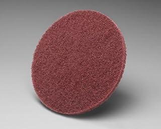 3M 348D 10 Inch Sanding Disc X Weight Cloth Backing PSA Pressure Sensitive Adhesive Aluminum Oxide TM 1, P120 OA