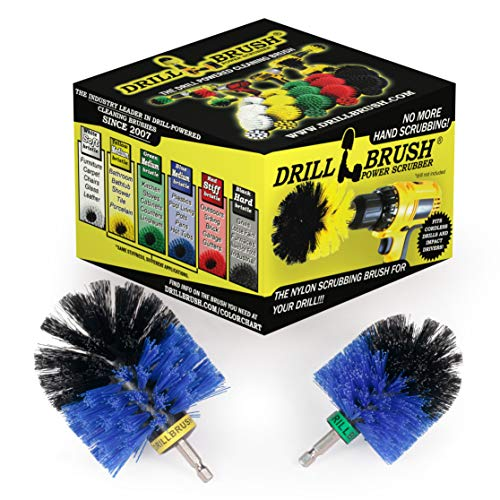 Drill Brush - Bootszubehör - Reinigungsprodukte - Bürste - Boot - Kajak - Kanu - Hull Cleaner - Algen - Seepocken - Teppichreiniger - Vinyl - Deck Brush - Fiberglas - Aluminium - Spin-Bürste