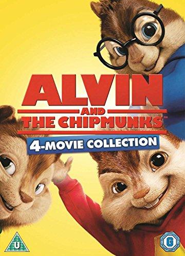 Alvin And The Chipmunks 1-4 (3 Dvd) [Edizione: Regno Unito] [Edizione: Regno Unito]