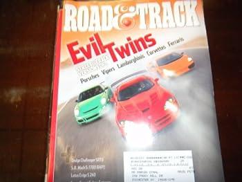 Road & Track - Evil Twins Porsches Vipers Lamborghinis April 2008