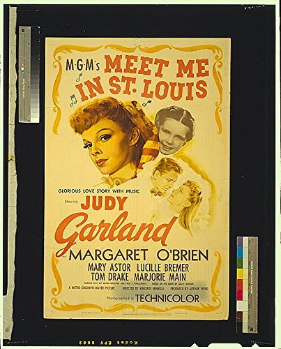 Infinite Photographs Photo: Meet me in St. Louis,Motion Picture Photo,c1944,Judy Garland,Margaret O'Brien