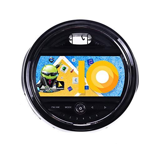 ZWNAV 8 pollici Andriod 10.0 Double Din Auto Stereo Navi Bluetooth Navigazione GPS per BMW Mini One Cooper S Hatch One F55 F56 2015-2017 Unità di controllo del volante Wifi USB Carplay Mirror Link