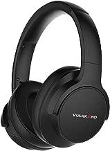 VULKKANO Air ANC - Auriculares cancelación Ruido de tecnología Europea. Bluetooth y batería 20 Horas. Controles y micrófono. Buen Sonido, excelente Aislamiento con Protein Pads de máxima Comodidad
