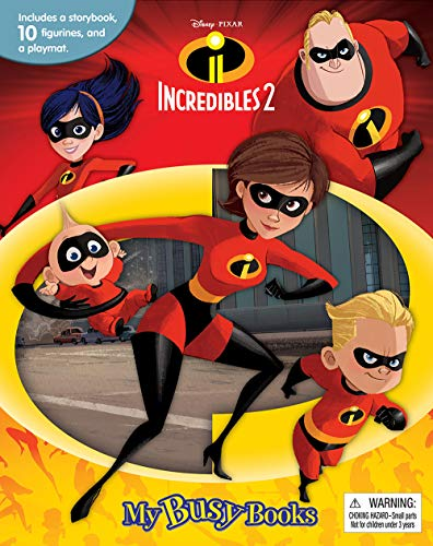 Compare Textbook Prices for Disney The Incredibles 2 My Busy Books  ISBN 9782764336199 by Phidal Publishing Inc.