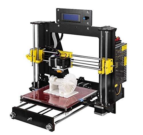 DIY-I3 Impresora 3D de escritorio DIY Impresora 3D Autoensamblaje Kit Prusa i3 Impresoras 3D de alta precisión con pantalla LCD Kit de impresora 3d (tamaño de plataforma 200 * 200 * 180MM)