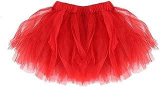 99native Tutu Dancing Jupe LED Jupe Tutu Femme Fille Robe Princesse Tutu Femme Fille Maille Jupe Princesse Jupe avec Petite Jupe LED Robe De Soiree