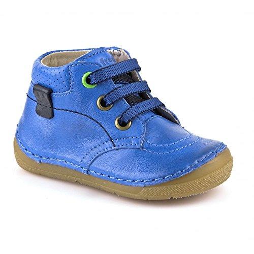 FRODDO unisex Leder extra softe Lauflerner azur blau Halbschuhe (20)