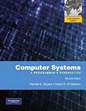 Computer Systems: A Programmer's Perspective: International Edition