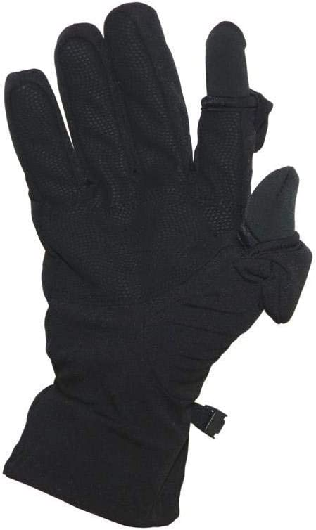 Freehands Men's Softshell Photography New product! New type Gloves Black Medium Max 87% OFF