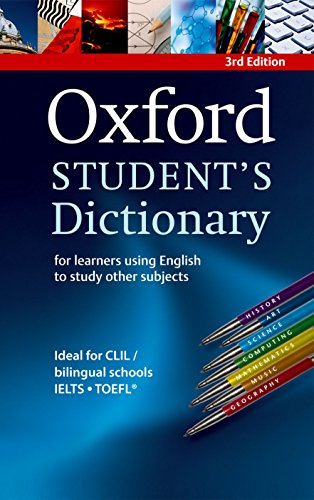 Oxford Student´S Dictionary - 03Edition: For Learners Using English to Study Other Subjects
