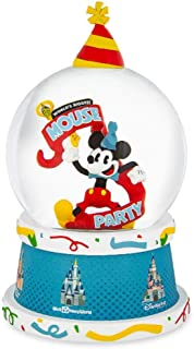 Disney Mickey Mouse World's Biggest Mouse Party Light Up Snow Globe