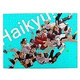 ハイキュー!! パズル 木製 500のパズルのピース 烏野高校 音駒高校 萌えグッズ 日向翔陽 月島蛍 西谷夕 梟谷 キャラクター パズルのピース 子供/大人 初心者向 け 人気のアニメ·漫画 ギフト プレゼント