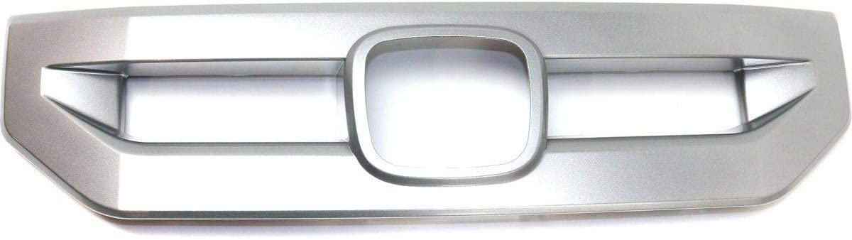 New Front Center Grille Molding 2009-2011 Pilot Silver 2020A W新作送料無料 For 超目玉 Honda