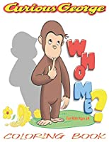 Curious George Coloring Book For kids: 120 Coloring Pages For kids Ages 4-8