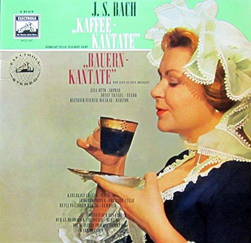 Bach: Kaffee-Kantate & Bauern-Kantate [Vinyl LP] [Schallplatte]