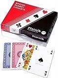 Piatnik 219733 Romme Brücke Canasta Spielkarten