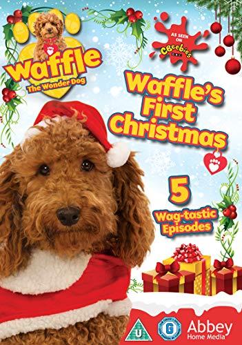 Waffle The Wonder Dog - Waffles First Christmas [DVD] [Region 2]