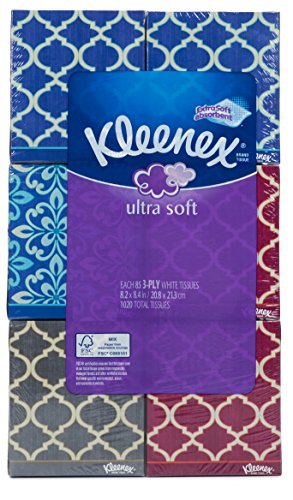 Kleenex Ultra Soft Tissues 3Ply Pack of 6 Each 85 Count