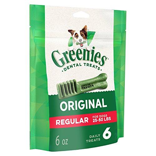 GREENIES Original Regular Natural Dog Dental Care...
