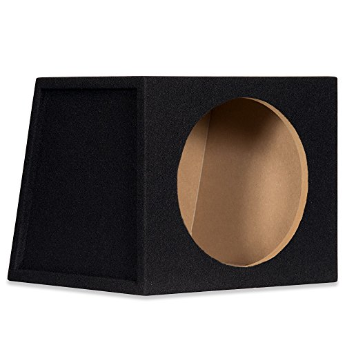 "12S Sealed 12"" Single Car Bass Box Speaker Enclosure Cabinet for Car Truck SUV"