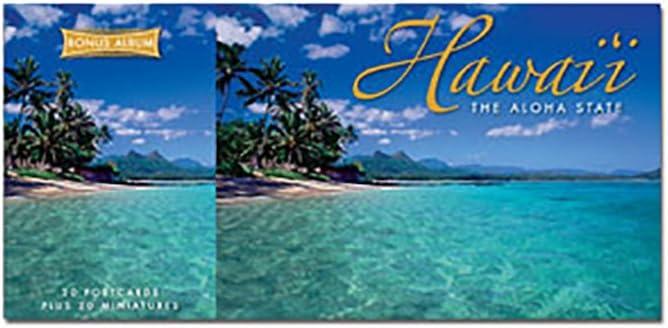 SALENEW very popular Hawaiian Postcards Bonus Album Ultra-Cheap Deals 20 Hawa Miniatures