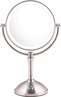 AmnoAmno LED Makeup Mirror-10x Magnifying,7.8