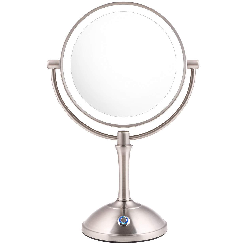 AmnoAmno Mirror 10x Magnifying Adjustable Operated Cord