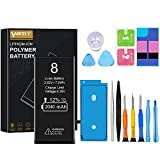 2040mAh Battery for iPhone 8(Upgraded),Vancely Replacement 0 Cycle Battery with High Capacity for iPhone 8 with Full Remove Tool Kits (Only for iPhone 8) - 12 Months Warranty…