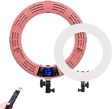 Camera Foto Video Verlichting Kit LED-ring Invullicht Lcd-scherm Mobiele telefoon Camera Fotografie Schoonheid Selfie Self...