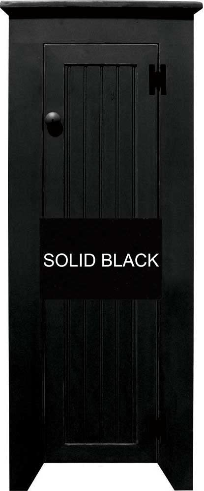 Sawdust City Chimney Cupboard Black Popular brand in excellence the world Solid