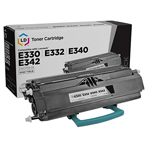 LD Remanufactured Toner Cartridge Replacement for Lexmark 34015HA High Yield (Black)