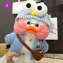 XINHU Pluchen Speelgoed Eend Zachte Pluche Pop Kind Woonkamer Decoratief Geschenk 30 Cm (Color : 4)