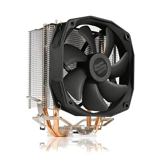SilentiumPC Spartan 3 LT HE1012 CPU-koeler met 100mm PWM ventilator (800-2000 omw/min, TDP 125W)
