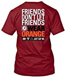 NCAA Friends Don't Let Friends Wear T Shirts - Up to 2X and 3X (Alabama Crimson Tide, XX-Large)
