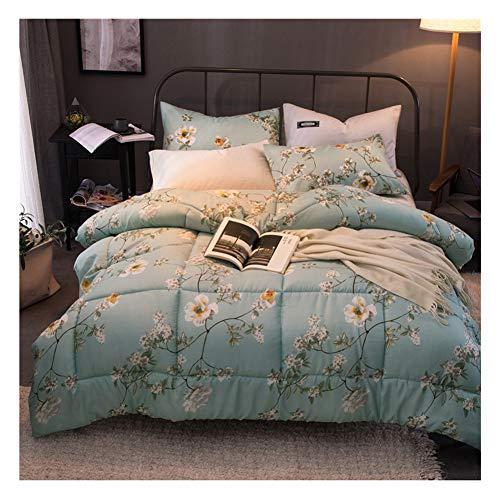 GELing Bettwäsche Set Polyester-Baumwolle Bettbezug-Set Einzelbett Doppelbett ,Farbe 7,150cm 3.5kg200cm 2kg