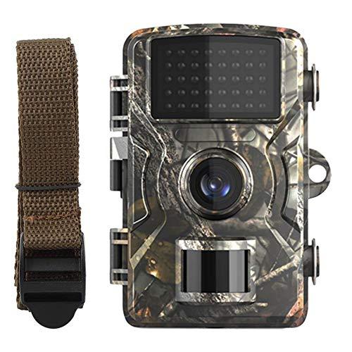LHYAN Wildkamera 16MP HD 1080P Hinterkamera Infrarot Nachtsicht IP65 Wasserdicht für die Jagd auf Wildtiere, Überwachung der Sicherheit zu Hause