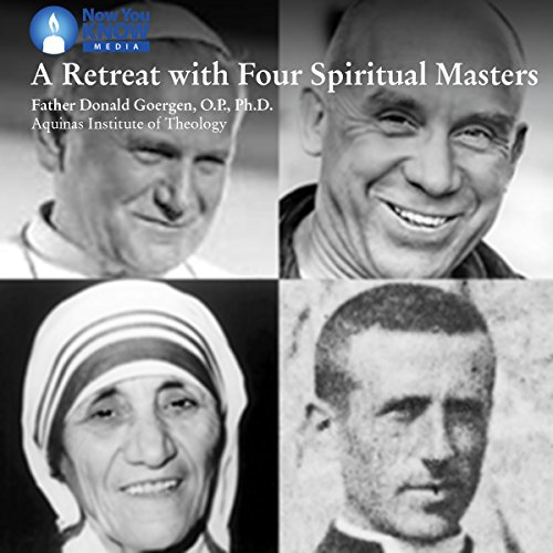 A Retreat with Four Spiritual Masters copertina