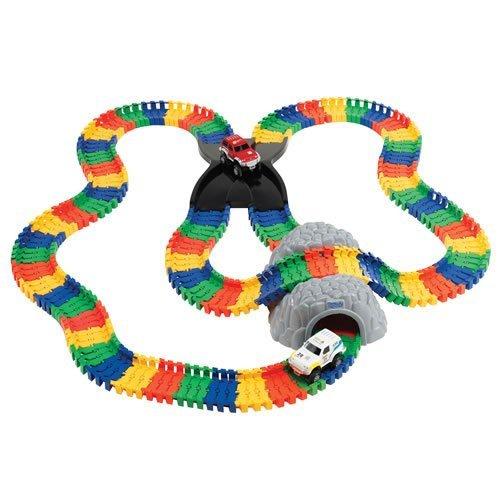 Kidoozie Build-a-Road x-Track, geistig stimulierende und beschäftigt Taktile Verlobungsring, individuell anpassbar, für Kinder ab 3und bis