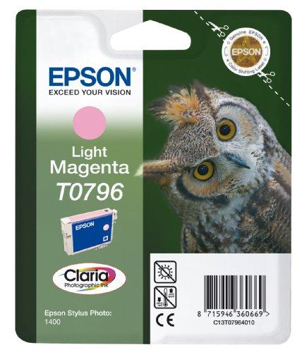 Epson T0796 Tintenpatrone light magenta, High Capacity