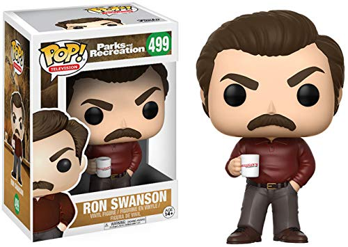 Parks & Rec Parks & Recreation Figura de vinilo Ron Swanson (Funko 13036) , color/modelo surtido