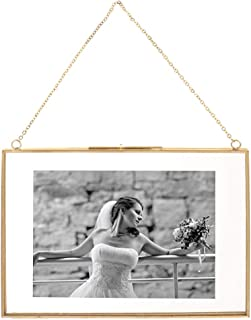 Best double sided glass hanging frame Reviews