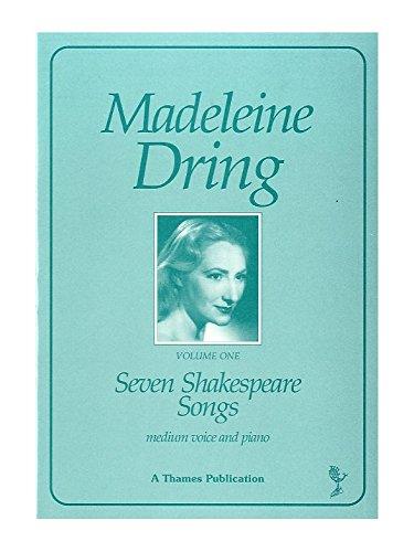 Madeleine Dring: Seven Shakespeare Songs. Für Mittlere Stimme, Klavierbegleitung